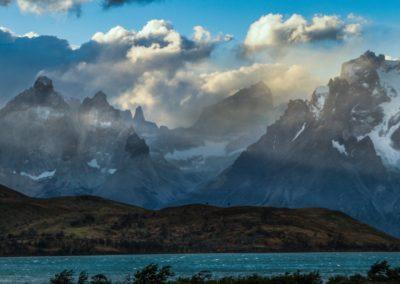 Das Torres-del-Paine-Massiv im chilenischen Teil Patagoniens.