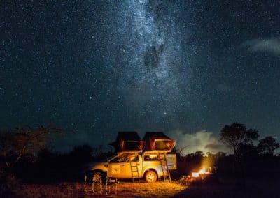 Beeindruckender Sternenhimmel in Swasiland.