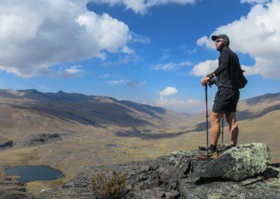 Hoch oben in Bolivien.